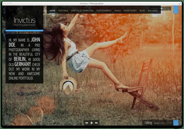 Wordpress Theme Invictus