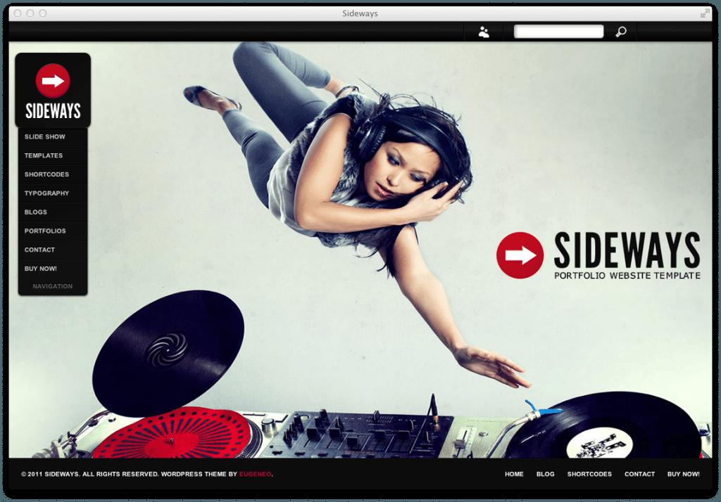 Wordpress Theme Sideways