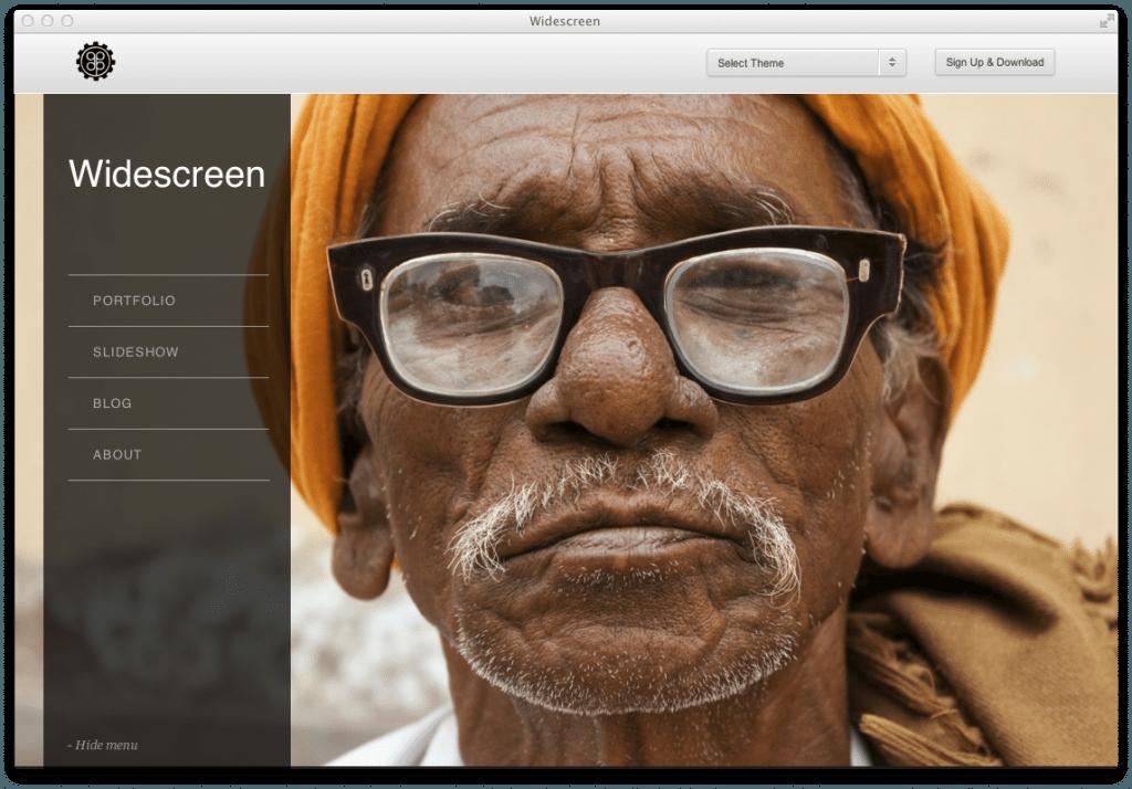 Wordpress Theme Widescreen