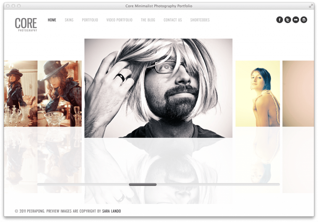 Wordpress Theme Core