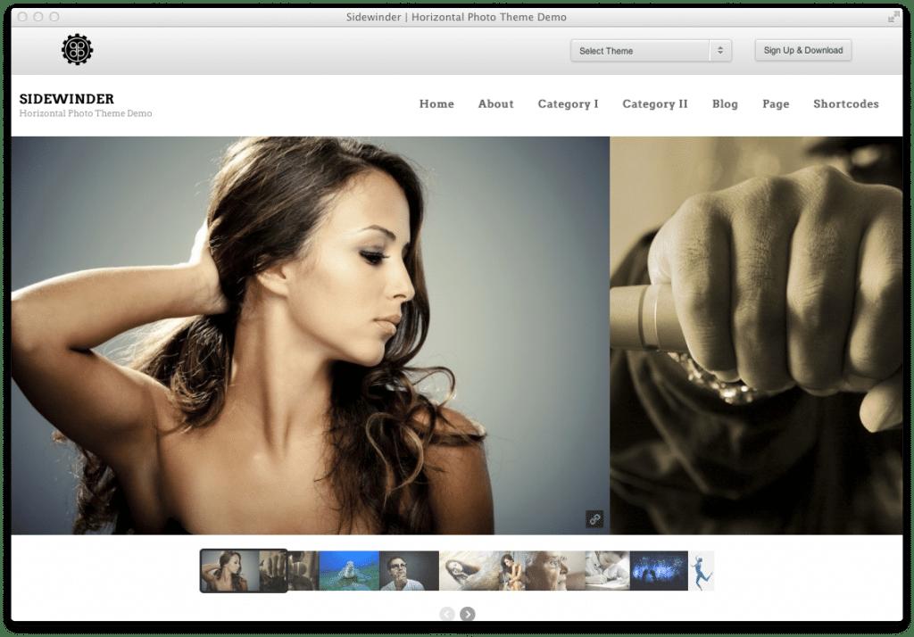 Wordpress Theme Sidewinder