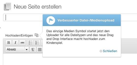 WordPress-Neuerungen
