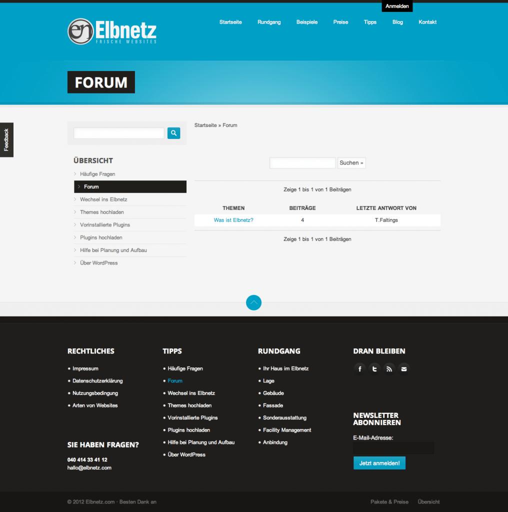 Elbnetz Forum