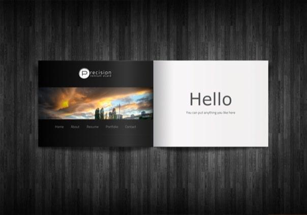 Precision - Premium vCard WordPress Theme