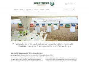 Link zur Website von Gerrseheim Serviert Startseite