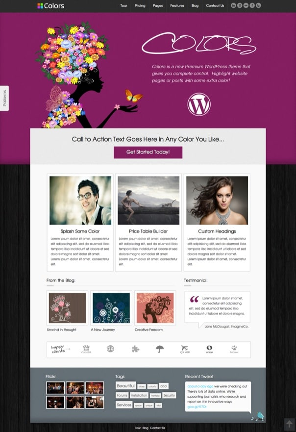 Colors Premium WordPress Theme