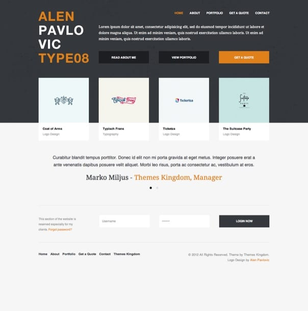 Invo - WP Business theme with invoice system