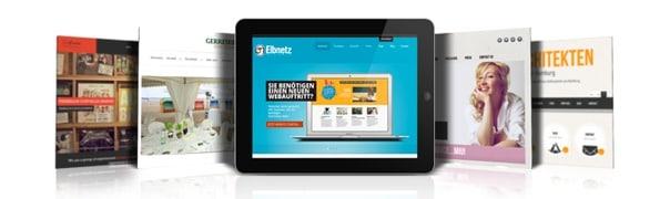 Website Verlosung bei Elbnetz