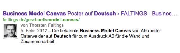 WordPress AutorenimGoogleSuchergebniss