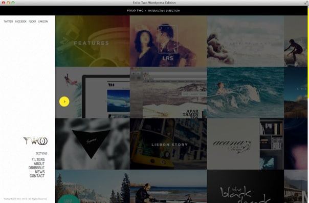 Folio Two WordPress Edition