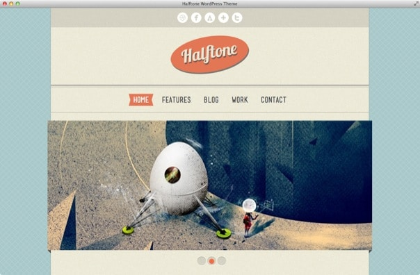 Halftone - WordPress Theme