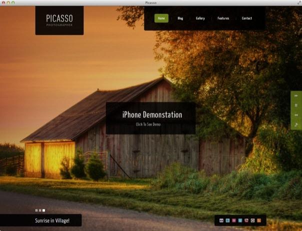 Picasso - Responsive Photography & Portfolio Theme