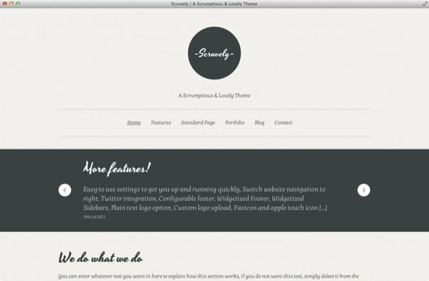 Scruvely - A Typographic Business & Creative Theme
