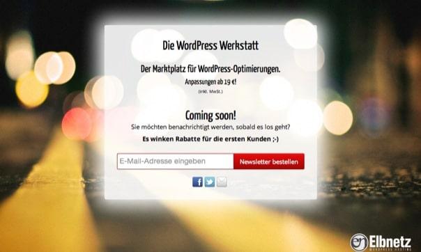 WordPress Anpassungen WP-Werkstatt