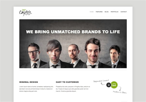 360° - WordPress Theme