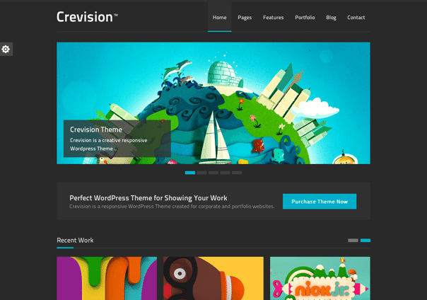Crevision - WordPress Theme
