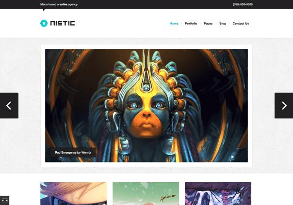 Nistic - WordPress Theme