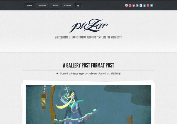 Piczar - WordPress Theme