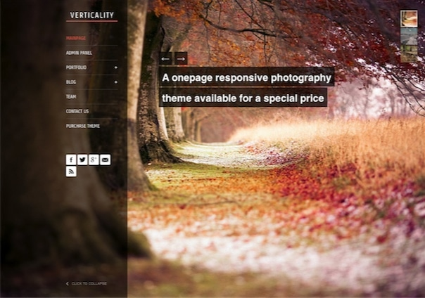 Verticality - WordPress Theme