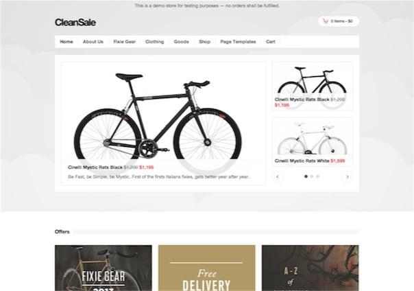 cleansale - WordPress Theme