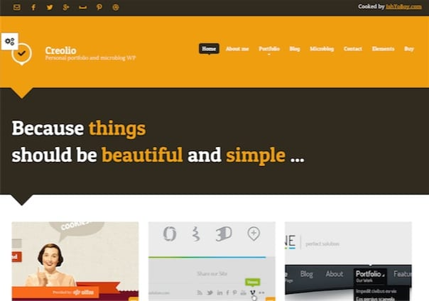 creolio - WordPress Theme