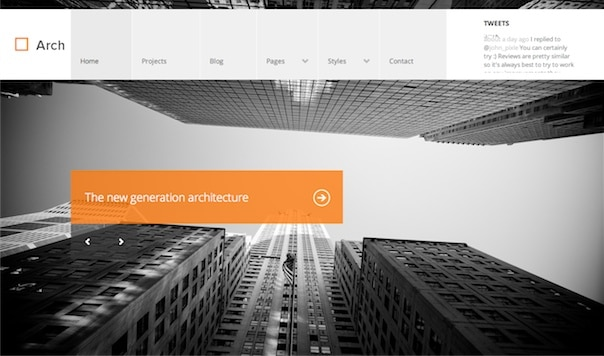 Arch WordPress Theme