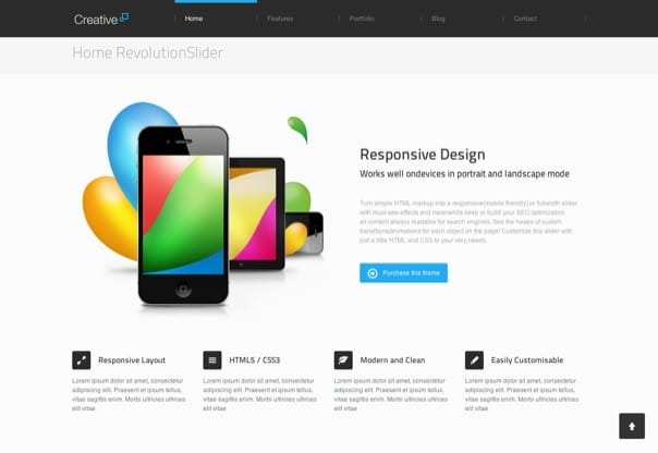 Creative - Responsive WordPress Theme