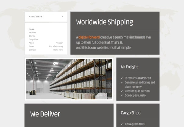 Eagle Logistics - Retina-Ready WordPress Theme