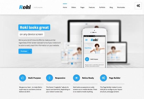 Roki - Multi-Purpose Responsive Theme