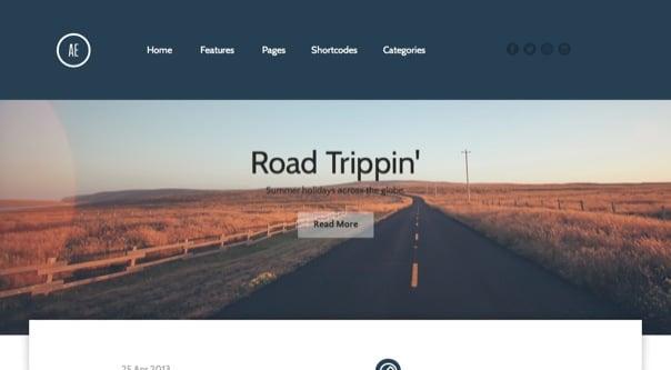 Aerogram - Responsive Retina-Ready WordPress Theme Kopie