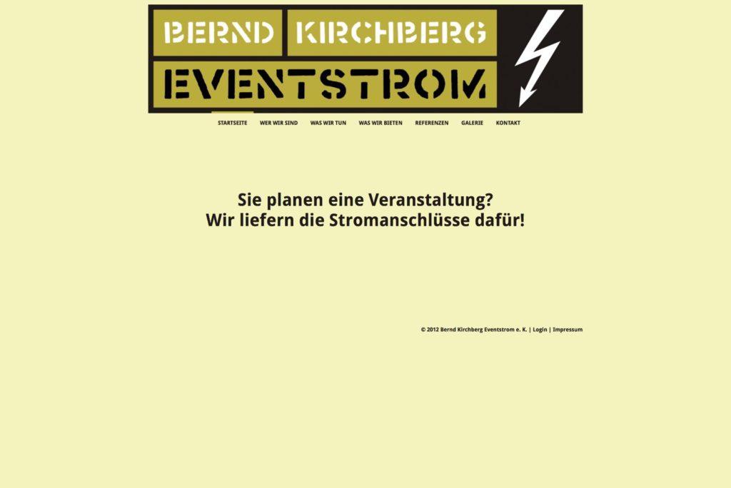 Startseite Eventstrom