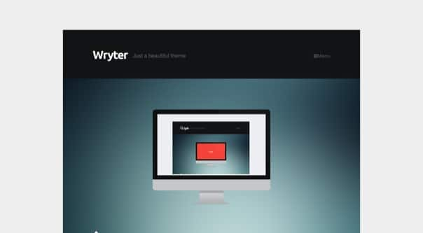 Wryter - Simple Personal Blog