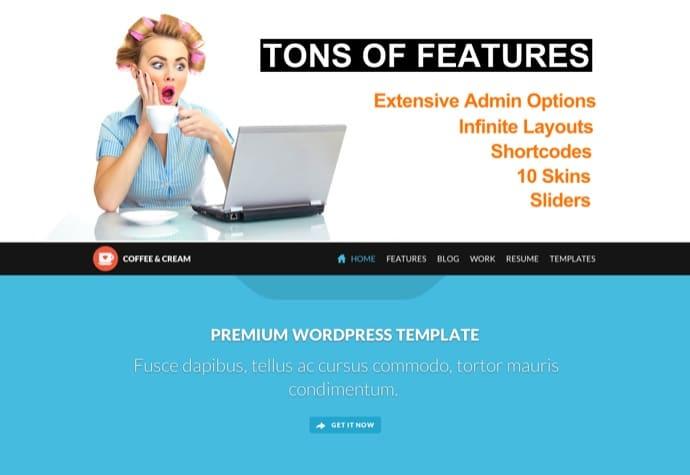 Coffee & Cream   Multipurpose WordPress Theme
