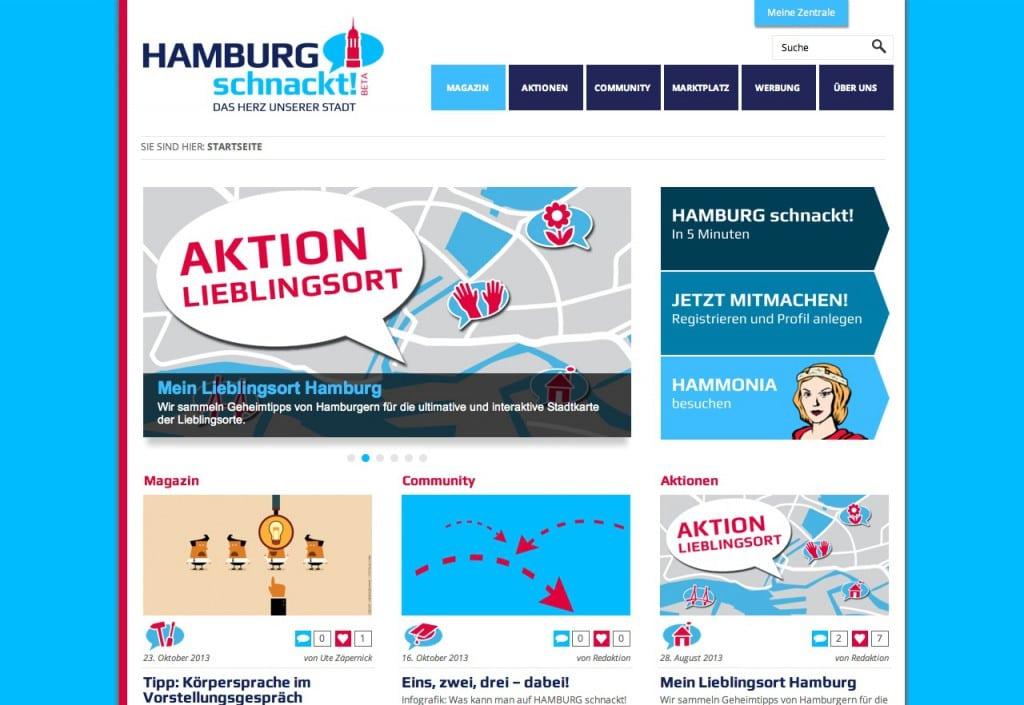 HAMBURG schnackt! Startseite