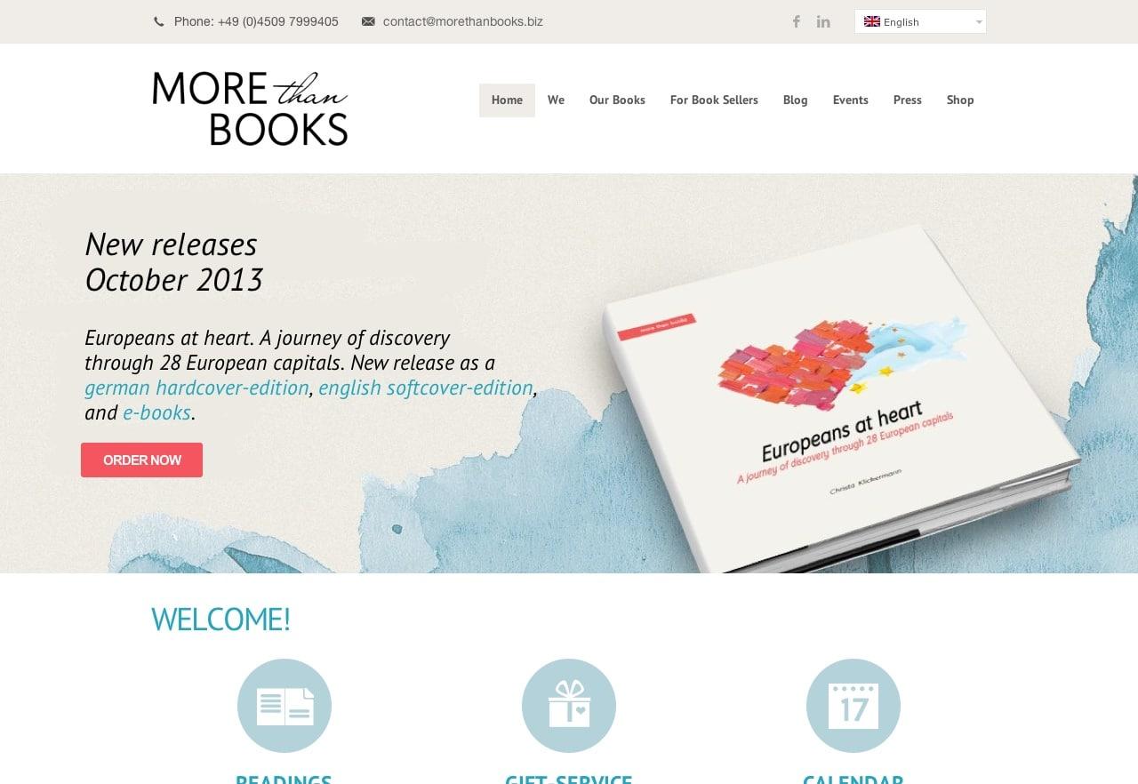 Morethanbooks Startseite