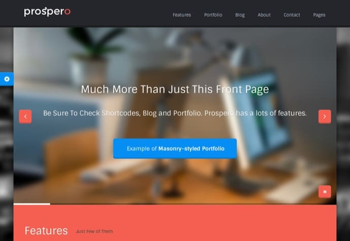 Prospero Business WordPress Theme