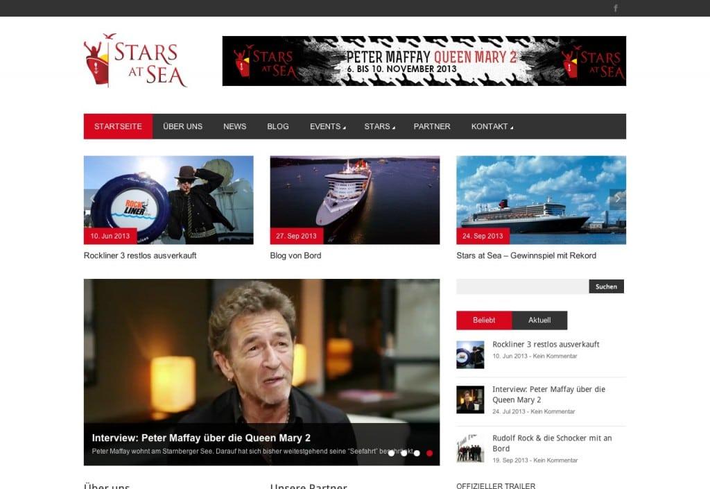 StarsatSea Startseite