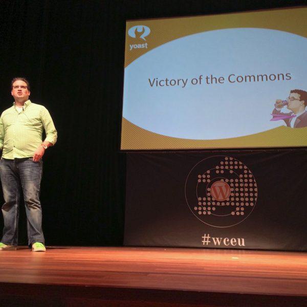 WordCamp Europe Joost de Valk ueber Aufgaben der Community