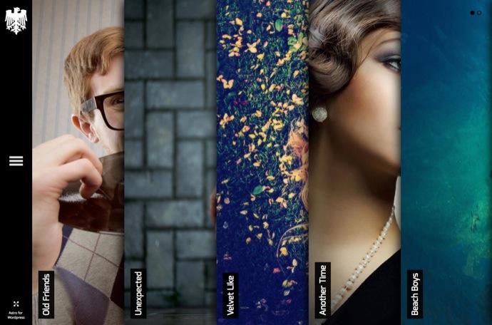 Astro - Showcase:Photography WordPress Theme