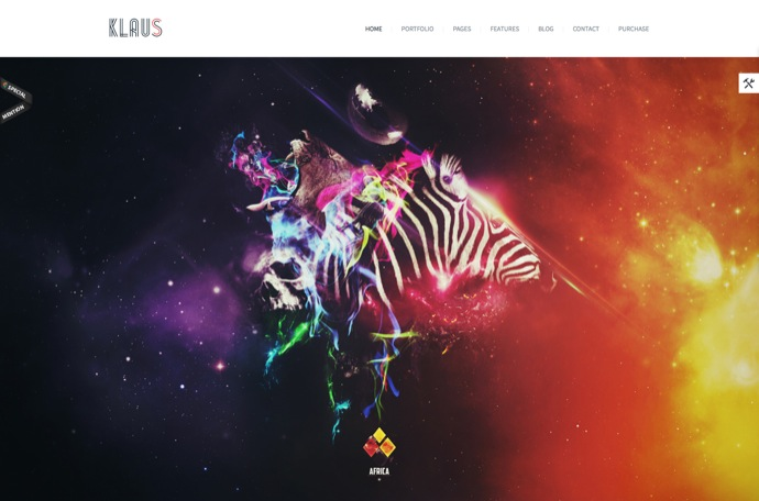 Klaus - Retina Multi-Purpose WordPress Theme