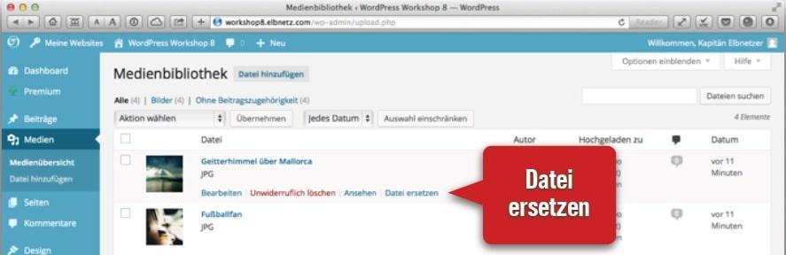 WP-Plugin Bilder ersetzen 2014-02-06