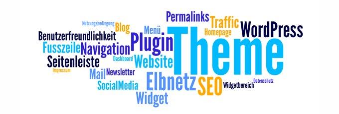 Elbnetz Was ist ein WordPress Theme