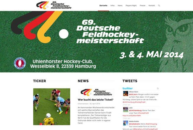 Hockey Final Deutsche Feldhockey Meisterschaften
