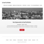 Scharf Wolter WordPress Website