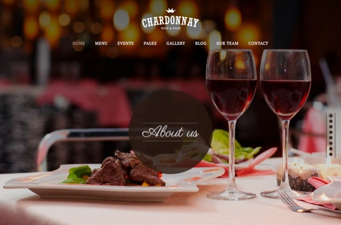 Chardonnay Responsive WordPress Theme