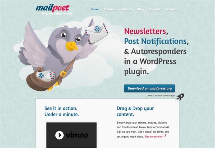 Newsletter Plugin MailPoet