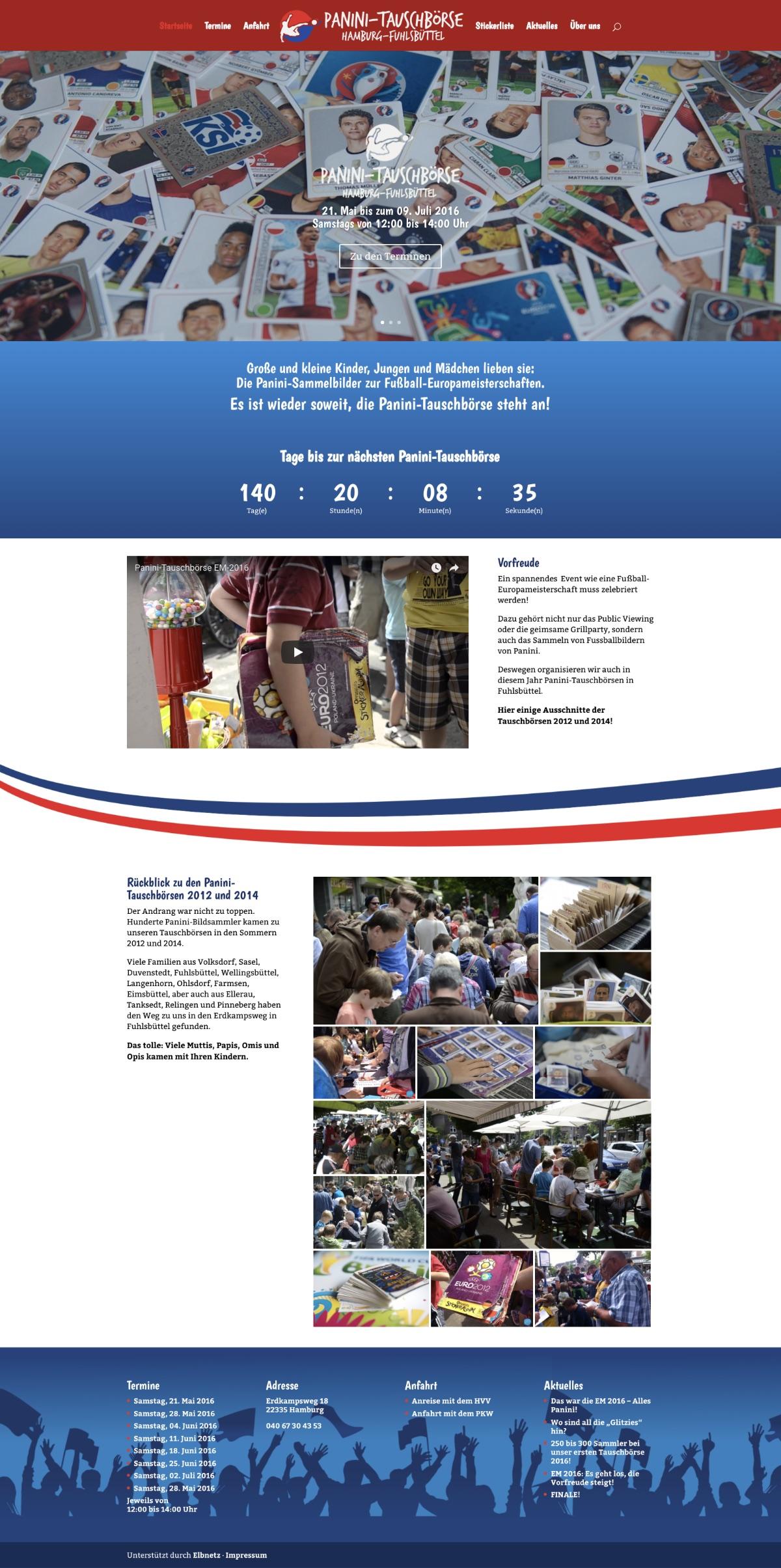 WebsitePanini Tauschbörse