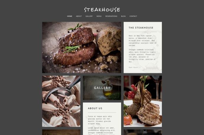 Steakhouse - Responsive Retina WP Restaurant