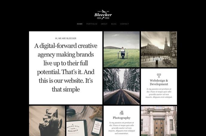 Bleecker - WP Portfolio