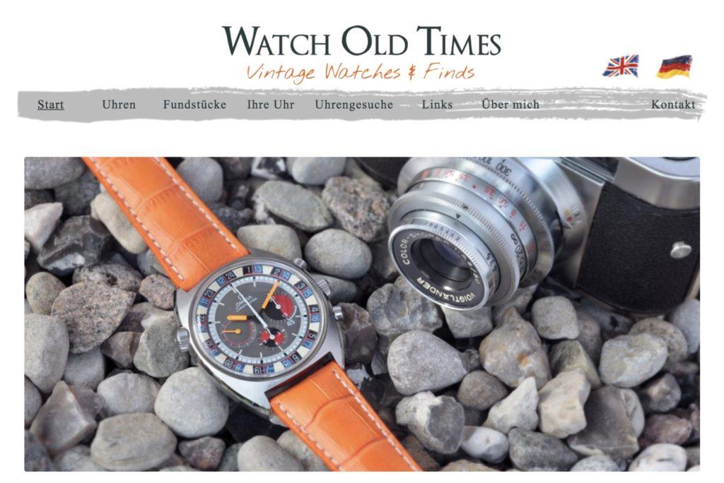 Startseite Watch Old Times